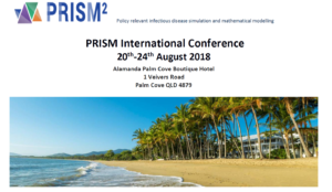 TDmodnet scholarship to attend Prism International Conference in Aug 2018