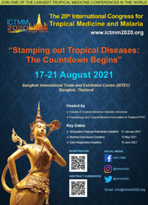 ICTMM2020 postponed to 17-21 August 2021
